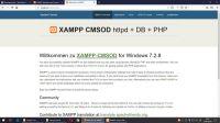 XAMPP CMSOD 7.2.8