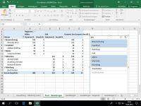 Pivot mit Datenschnitt