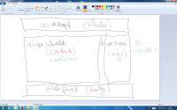 Scribble / Entwurf