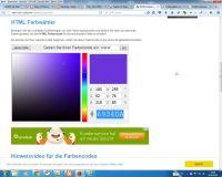 Farbcodierungen