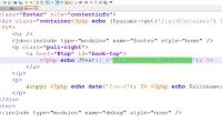 Template index.php