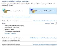 Windows-Anmeldeinformationen
