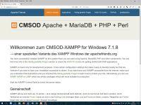 XAMPP CMSOD 2018