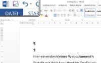 OneDrive Dokument